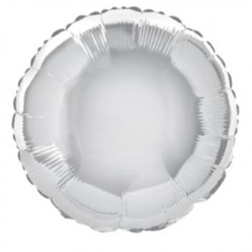 Silver Balloon - Round