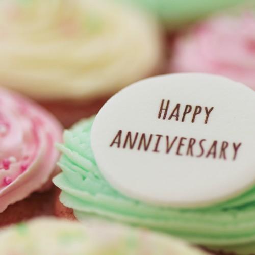Happy Anniversary - Signature Vanilla The Little Cupcake ...