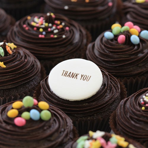 Thank You Chocolate The Little Cupcake Company