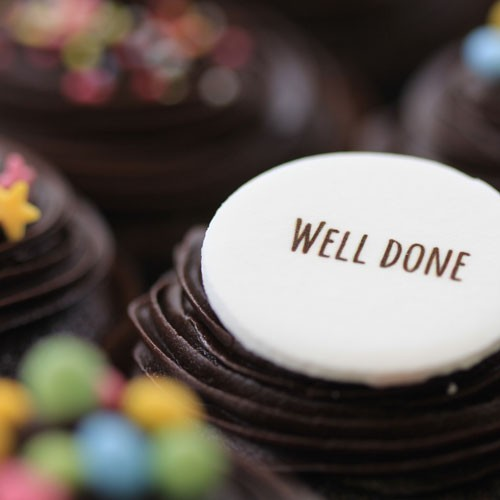Well Done Chocolate The Little Cupcake Company