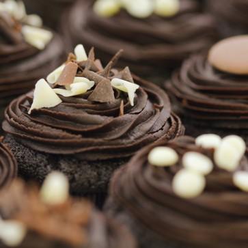 Quadruple Chocolate - close up