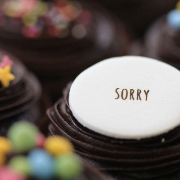 Sorry - Chocolate - close up