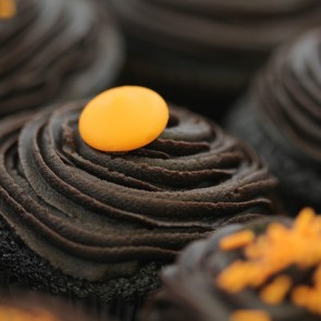 Chocolate Orange - close up