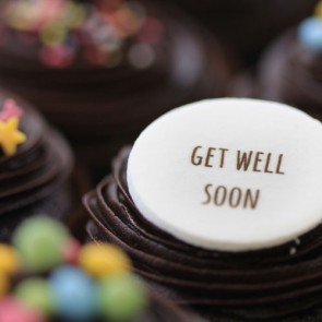 Get Well Soon - Chocolate - close up