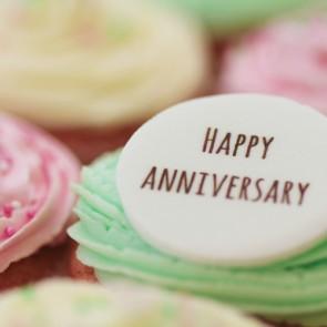 Happy Anniversary - Signature - close up