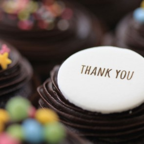 Thank You - Chocolate - close up