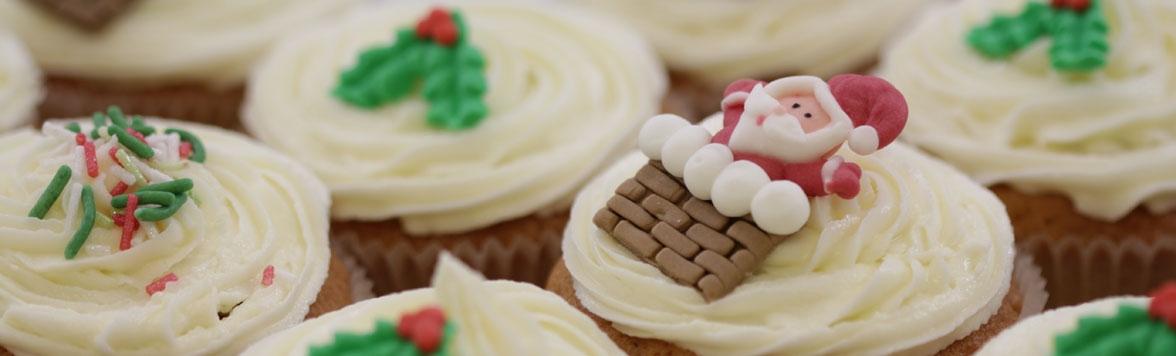 Santa baby... bring me a cupcake or two
